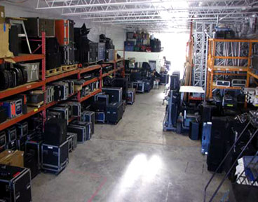 dry hire, audio equipment company in cambridge