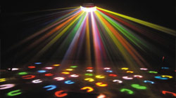 disco lighting hire for a birthday party or event