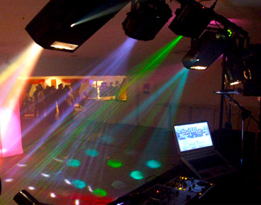Hire a mobile disco for a party in Cambridge